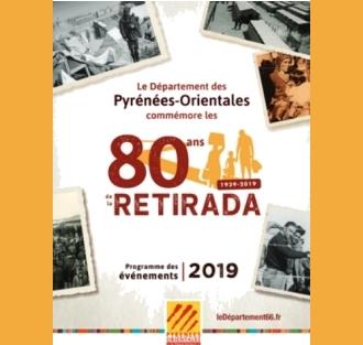 Programme des commémorations du 80ième anniversaire de la Retirada
