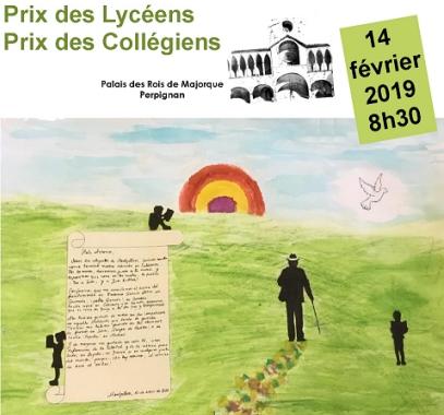 Prix des Collégiens et Lycéens 2019