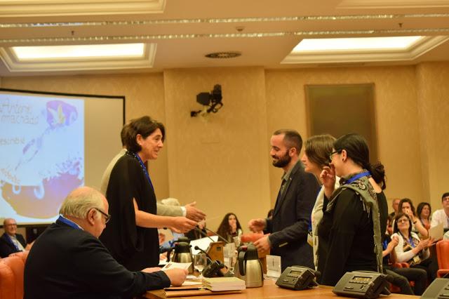 Les Lauréats scolaires 2019 de la FAM primés au Congrès des Députés Espagnols par la FAM espagnole