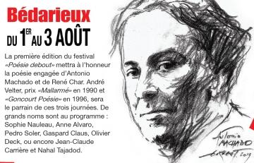 Festival Poésie debout de Bédarieux, 1-2-3 août 2019