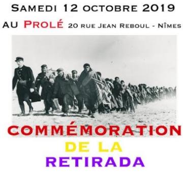 Commémoration de la Retirada à Nîmes, conférence et spectacle le 12 octobre