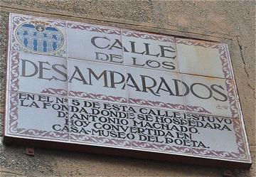 Centenaire de l'arrivée de Machado à Segovia du 22 au 25 novembre