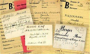 Le fichier des internés de la Retirada sur le site des Archives départementales