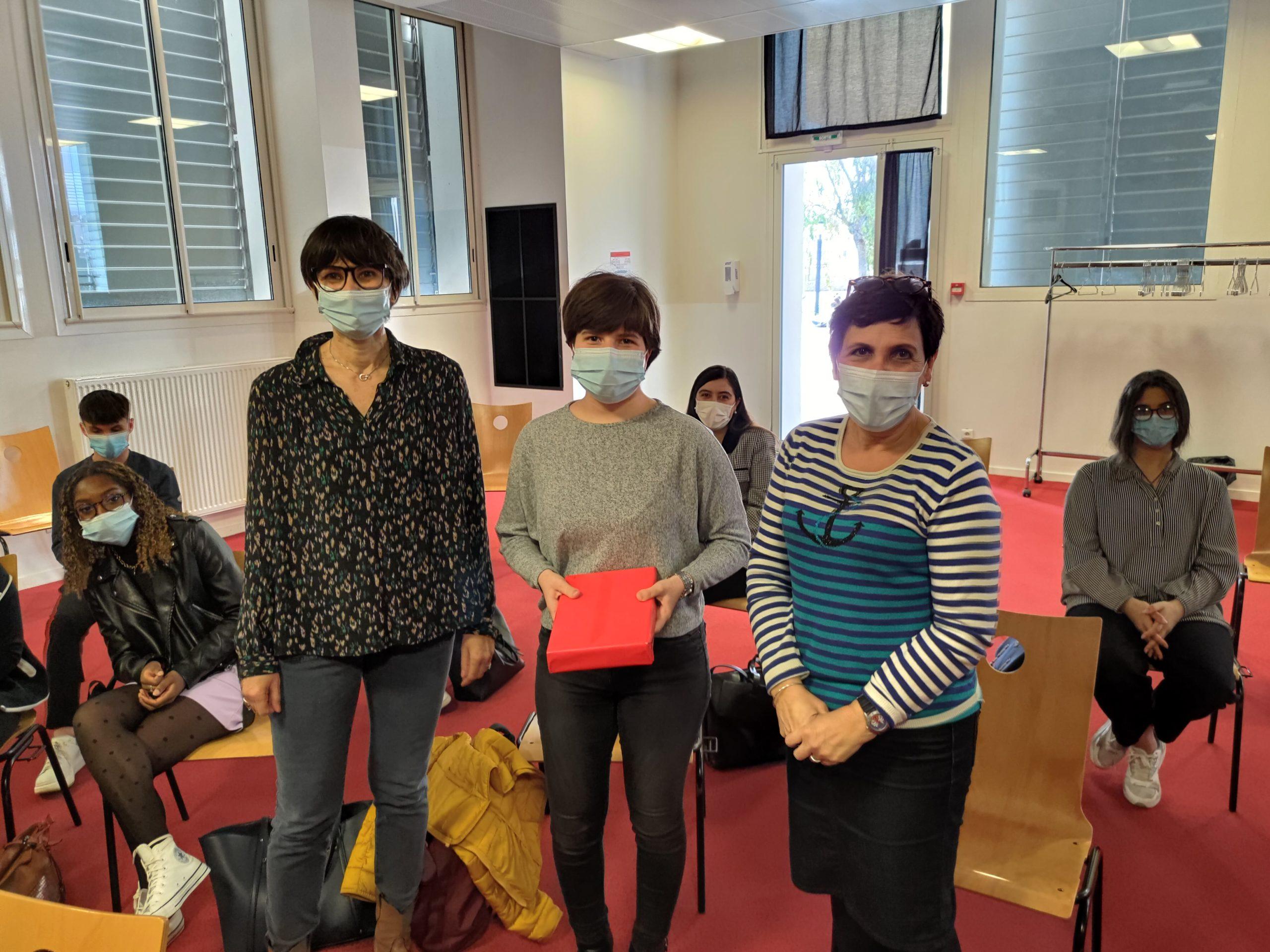 Remise du Premier Prix des Lycéens 2021 au Lycée Jean Lurçat de Perpignan