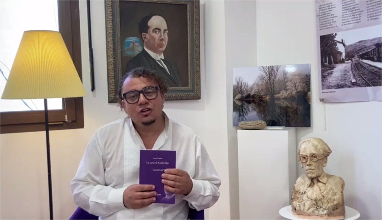 Samir Delgado, Prix International Antonio Machado 2020, en visite à Collioure